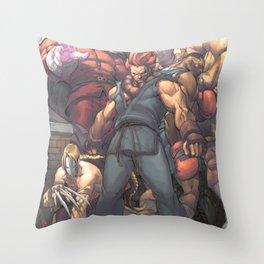 Street Fighter - Villains Throw Pillow