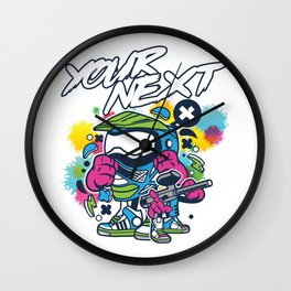 Your Next Paintball Player Paintball Game Marker Gift Wall Clock