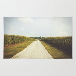 Indiana Corn Field Summers Rug