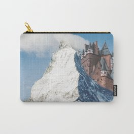 Castle on the Hill Matterhorn and Burg Eltz Castle in Germany Carry-All Pouch