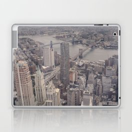 New York City from Above Laptop & iPad Skin