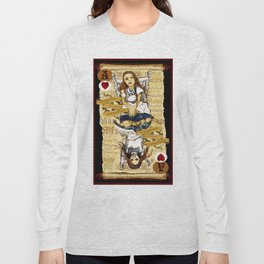'Alice' (Alice in Steampunk Series) Long Sleeve T-shirt