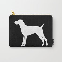German Shorthair Pointer dog breed pet portraits dog silhouette unique dog breeds Carry-All Pouch