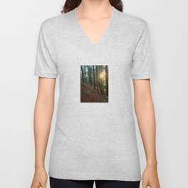 Talking To The Trees Unisex V-Neck