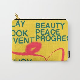 PLAY LOOK INVENT Carry-All Pouch