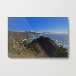 Muir Beach Overlook II Metal Print