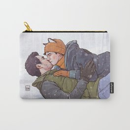Winter Smooches Carry-All Pouch