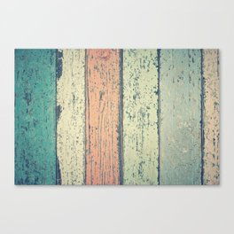 Abstract Panel Colors Canvas Print