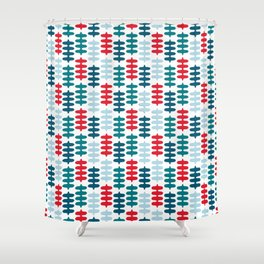 Joy collection - Red leaves Shower Curtain