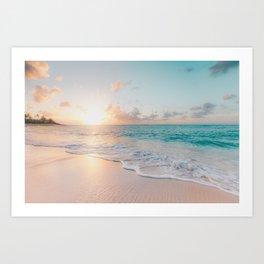 Beautiful Ocean Sunset Kunstdrucke