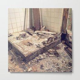 Dungeon Shower Demolition Metal Print