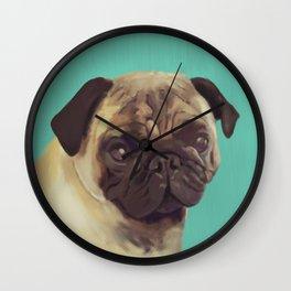 PUG! Wall Clock