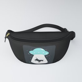 Cow UFO Fanny Pack