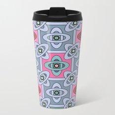 3 Oriental patterns Metal Travel Mug