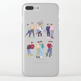 Our Thirteen Clear iPhone Case