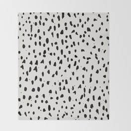 Urban Dot Throw Blanket