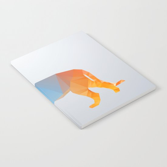 Glass Animal Series - Lion Notebook