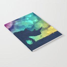 Pop Art Rhinoceros Notebook