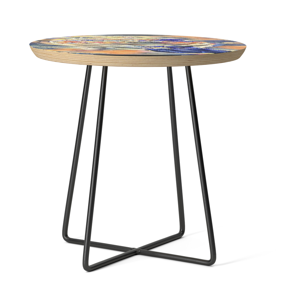 Bird Models: House Finch 01-01 Side Table by timereproofportraits (STD11177024) photo