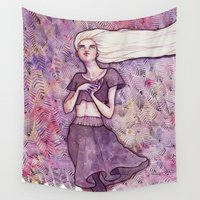 daenerys targaryen Wall Tapestries featuring Waiting by Verismaya