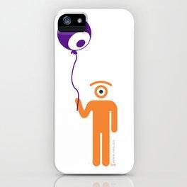eye globe iPhone Case