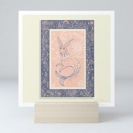 Capricorn Tarot Card Mini Art Print