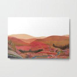 my village Metal Print