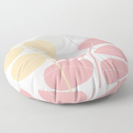 Pastel Leaves   #Society6 #decor #buyart Floor Pillow