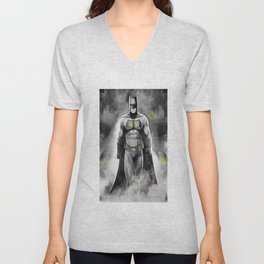 Superheroes 1 Unisex V-Neck