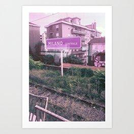 To Milano Centrale Art Print