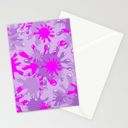 Slime in Lavenders & Pink Stationery Cards