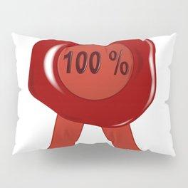 Wax Stamp 100 Percent Pillow Sham