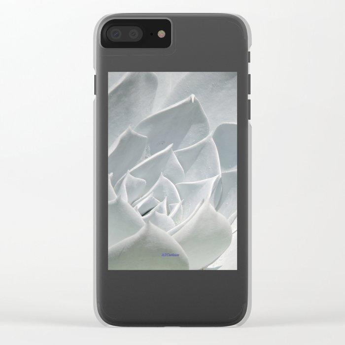 Succulent in the Sun Clear iPhone Case