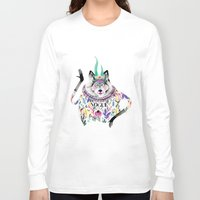 vogue Long Sleeve T-shirts featuring Vogue by Tania Orozco
