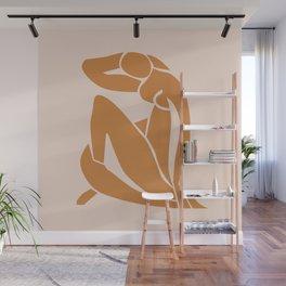 Henri Matisse Print - Abstract Art Poster -  Nude Minimalist Illustration LADY KNELT | large matisse | Modern Art | Nude Art | Feminist Wall Mural
