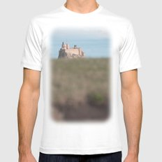 the view to blefuscu... MEDIUM Mens Fitted Tee White