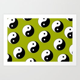 Yin & Yang Art Print
