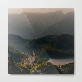 Magic castle Metal Print
