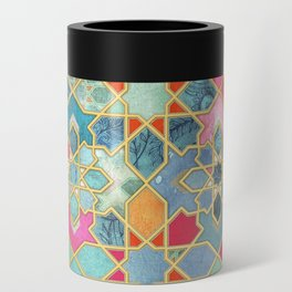 Gilt & Glory - Colorful Moroccan Mosaic Can Cooler