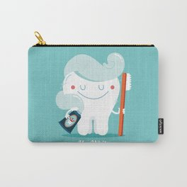Mr.White Carry-All Pouch