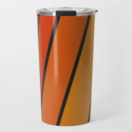 Retro 70s Stripes Travel Mug