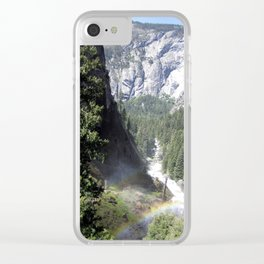 Mist Trail Clear iPhone Case