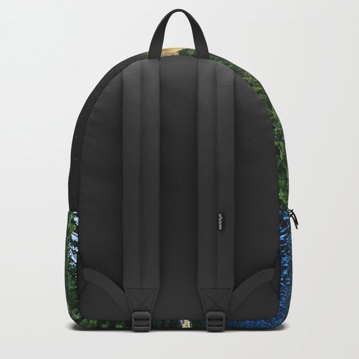 Bluest of blues Backpack