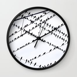 The Grackles Wall Clock