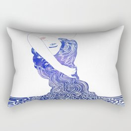 Water Nymph XXXVII Rectangular Pillow