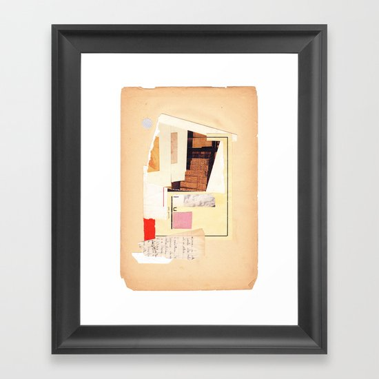 geometric exp #01 Framed Art Print