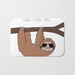 Sloth Cool Story Bro Bath Mat