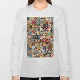 Vintage Beer Ads Long Sleeve T-shirt