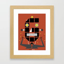 Simon G. Belfast Framed Art Print