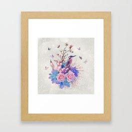 FLORAL  ALCEDO ATTHIS Framed Art Print